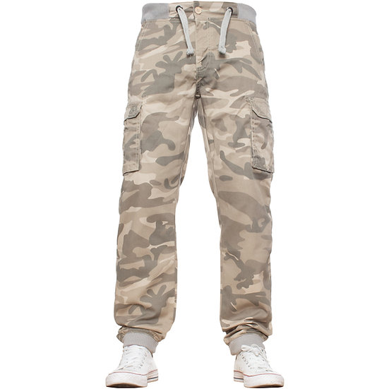 Camouflage Casual Enzo Designer Jogger Jeans