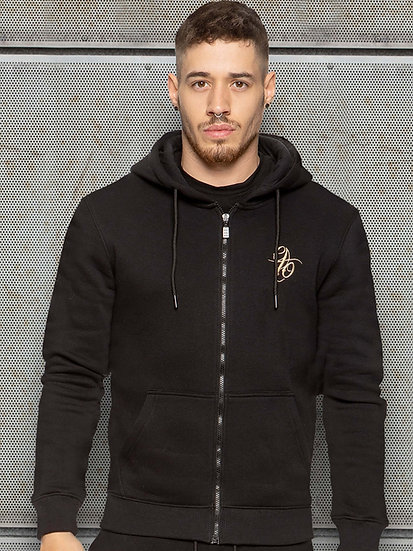 ETO | Mens Designer Black Athletic Hoodie Confirm