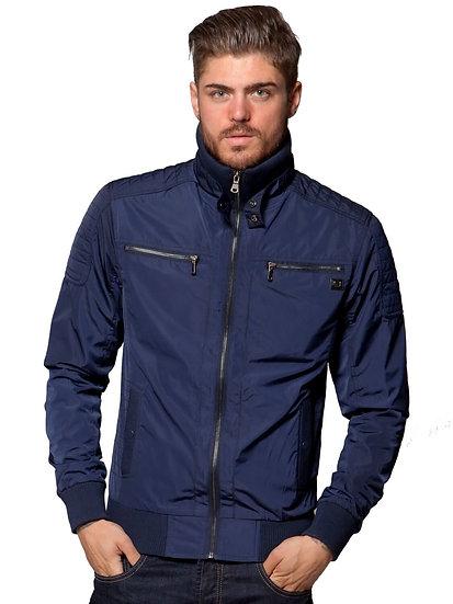 ETO | Men's Designer Navy Biker Style Jacket