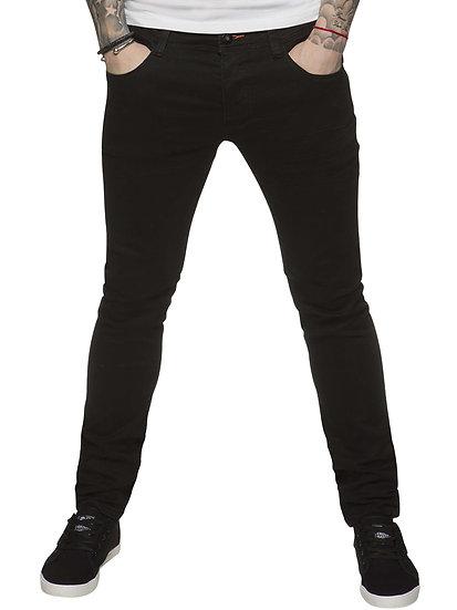 ETO | Designer Mens Reflex Super Skinny Black Denim Jeans