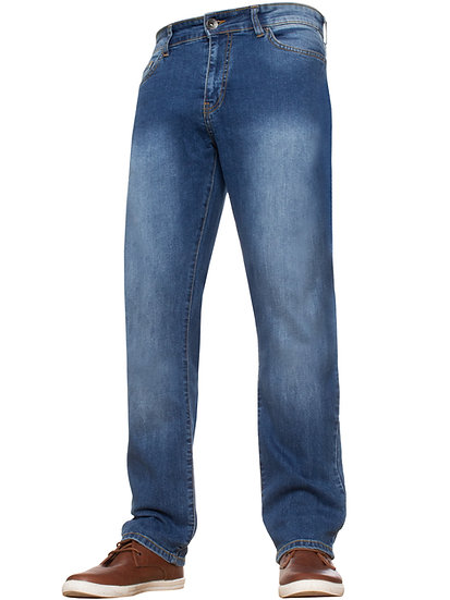 Mens Stretch Fit Denim Jeans