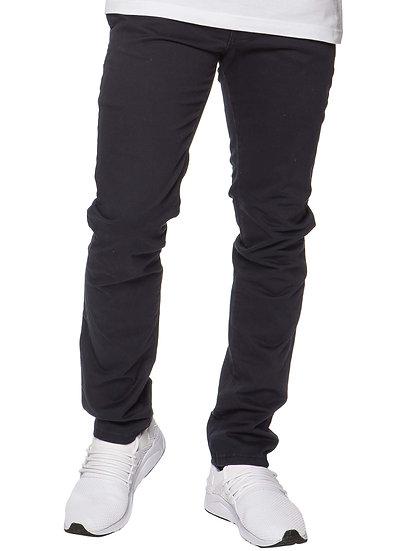ETO | Mens Designer Navy Regular Tapered Fit  Denim Jeans