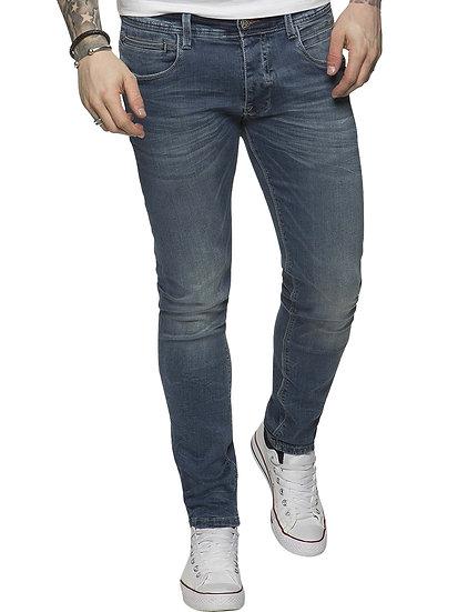ETO | Designer Mens Light Blue Reflex Super Skinny Denim Jeans