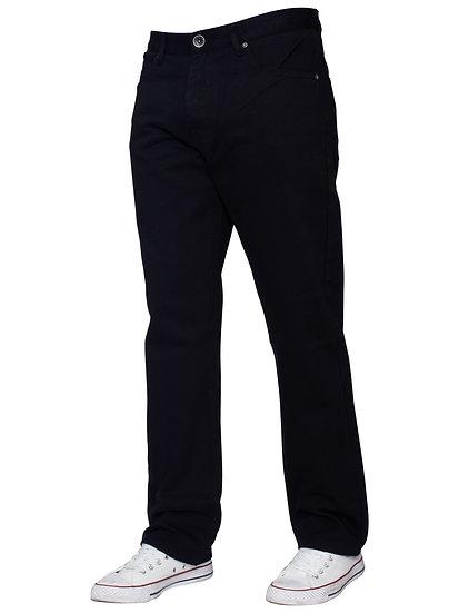 Mens Regular Tapered Fit Enzo Designer Jeans