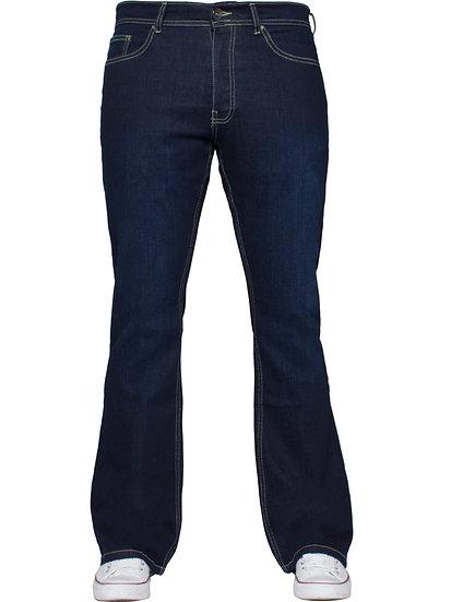 Designer Mens Indigo Bootcut Denim Jeans