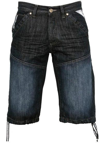 Mens Darkwash Denim Shorts |  Dark Wash