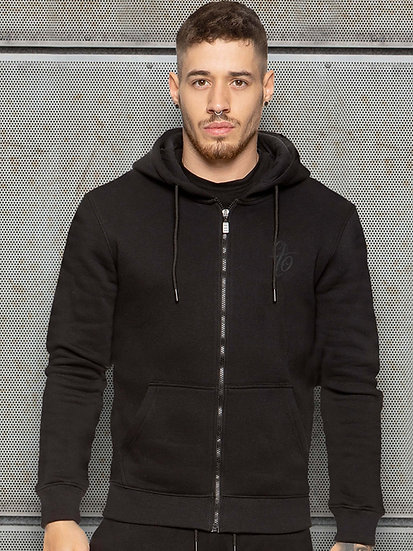ETO | Mens Designer Black Athletic Hoodie Confirm