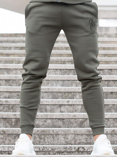 ETO | Mens Designer Khaki Athletic Joggers Confirm