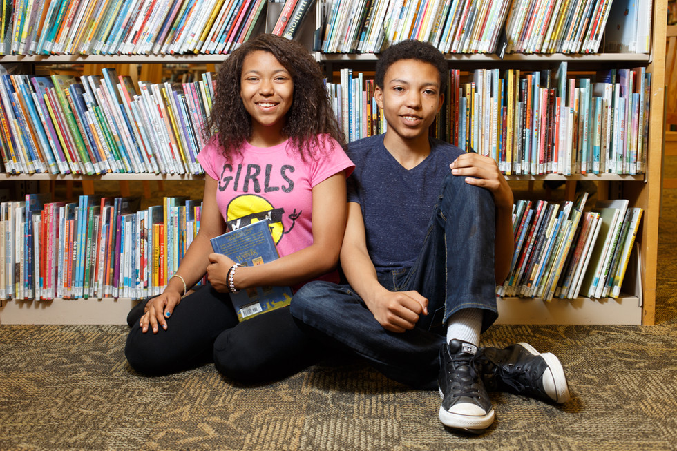 Against tough odds, kids reach for the future