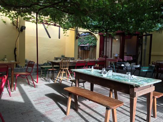 A favorite tavern in Alsace