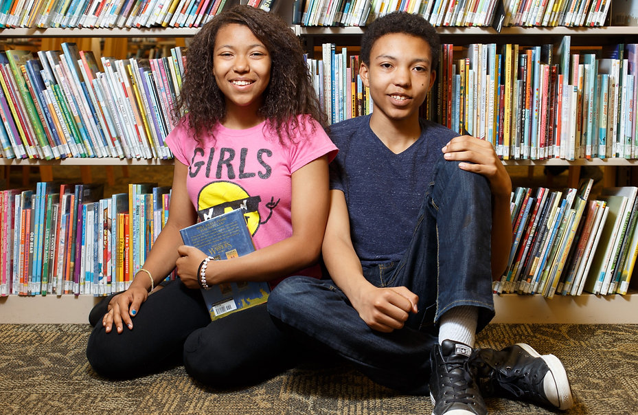 Rockwood Library is one of the smallest, and busiest, in the Multnomah County Library system. Teenagers can hand out in a space that is safe and constructve.