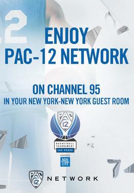 2017 Pac-12 Basketball Tournament Key Card