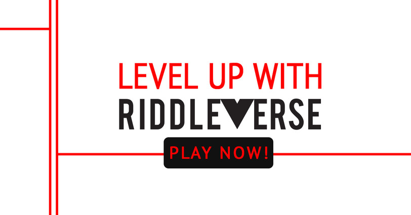 RIDDLEVERSE Facebook Ad