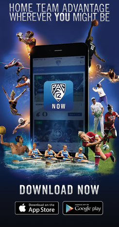 Pac-12 Now App Ad