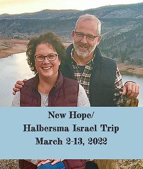 New Hope Israel Trip