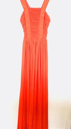 Criss Cross Red Maxi Dress