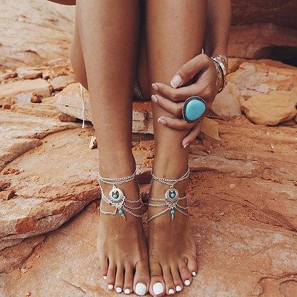 Ankle Tourquoise Bracelet
