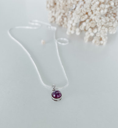 Moon Stone 925 Silver Necklace