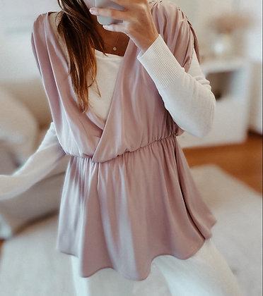 Satin Light Kimono Dress