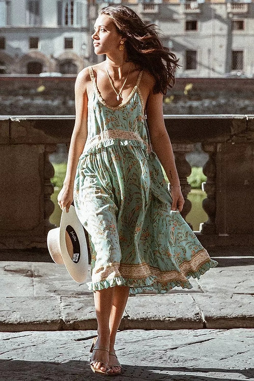 Greensleeves Dress