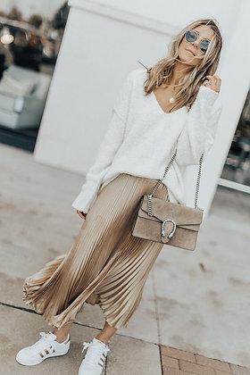 Ivory White Knit Sweater