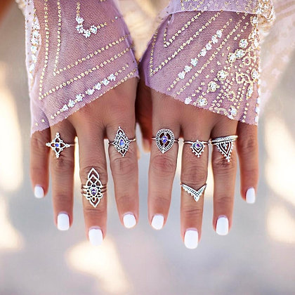 7 Rings Set