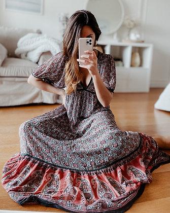 Indian Goddess Maxi Dress