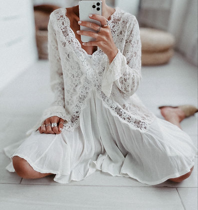 Lace Dream White Dress