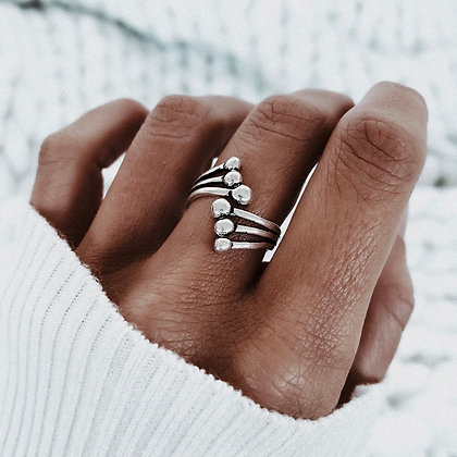 Aurora 925 Silver Ring