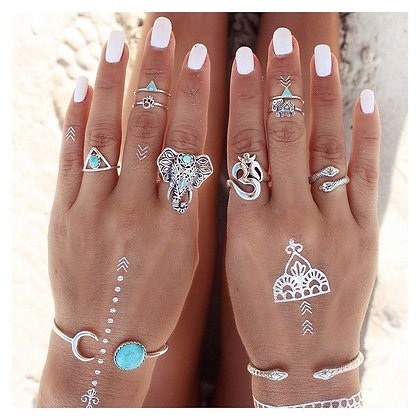 Oceania Rings Set