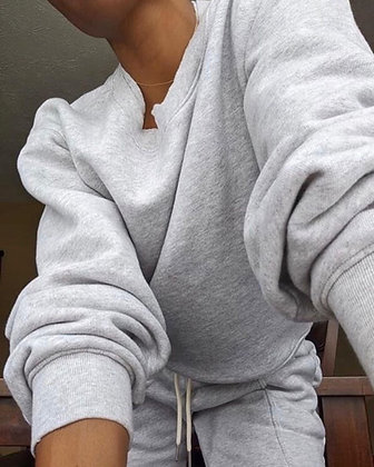 Grey Comfy Sweater
