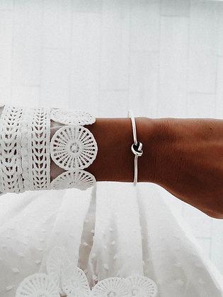 Knot 925 Sterling Silver Bracelet