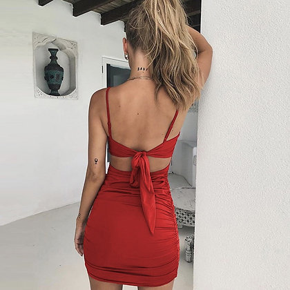 Knot Back Res Dress