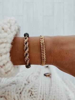 Braided 925 Silver Bracelet