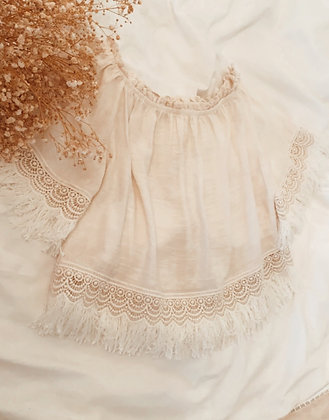 Lace Off Shoulder Top