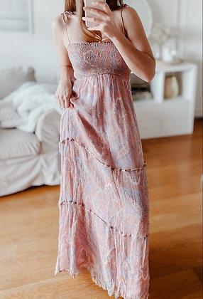 Princess Coral Maxi Dress