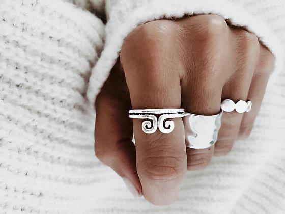 Goddess 925 Sterling Silver Ring