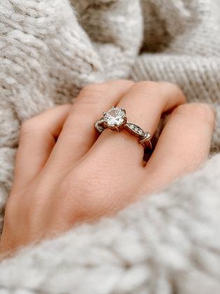 Unique Rock Silver Ring