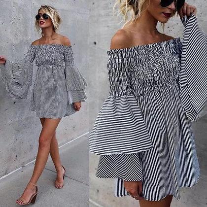 Striped Pin Up Dress