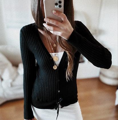 Cashmere Knit Jacket