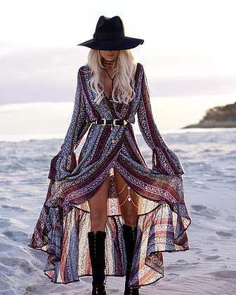 Maxi Split Gypsy Dress