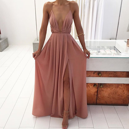 Nude Strappy Dress