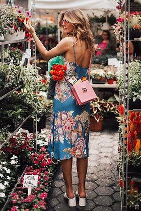 San Francisco Flowered Dress