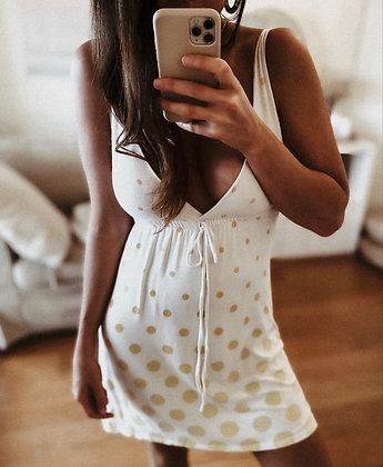 Dot Cotton Dress