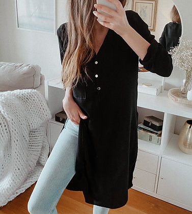 Indian Long Black Tunic