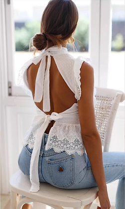 Perfect Back Lace Top