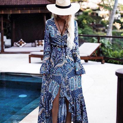 Sea Life Maxi Dress