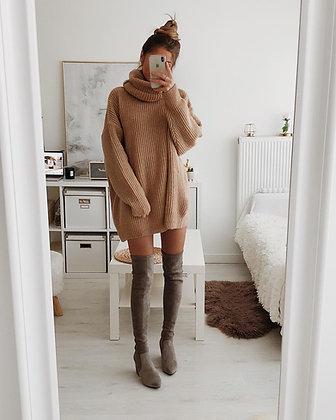 Knit Fly Sweater Dress