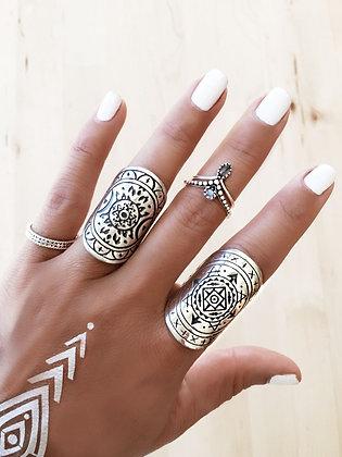 Tibetan Rings Set