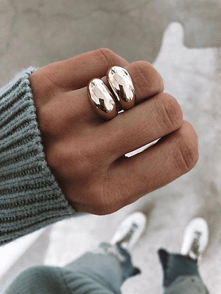 Statement 925 Silver Ring
